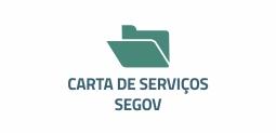 carta de serviços segov.